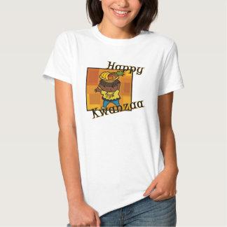 Boy Happy Kwanzaa Tee Shirt