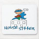 Boy Hero House Sitter Mouse Mat