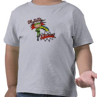 Boy Hero with Shield Tshirt