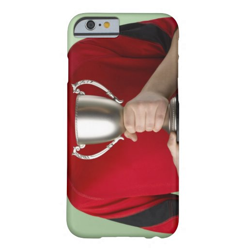 Boy Holding Trophy iPhone 6 Case