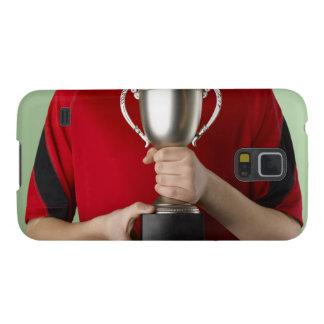 Boy Holding Trophy Galaxy S5 Case