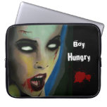 'Boy Hungry' (Zombie) Laptop/Electronics Bag Laptop Computer Sleeves