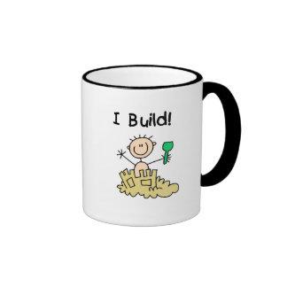 Boy I Build Castles Tshirts and Gifts Coffee Mug