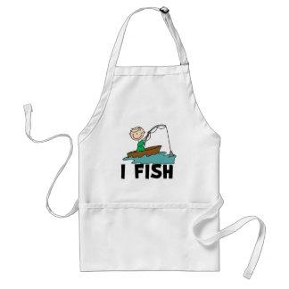 Boy I Fish  Adult Apron