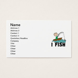 Boy I Fish Business Card