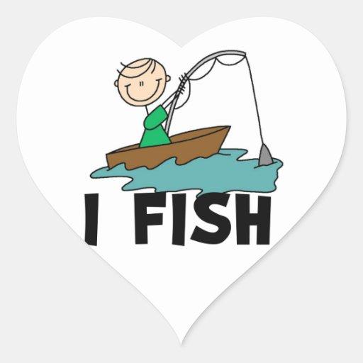 Boy I Fish Sticker