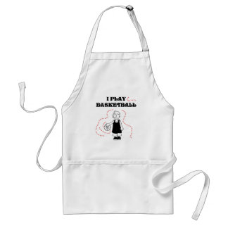 Boy I Play Basketball T-shirts and Gifts Adult Apron
