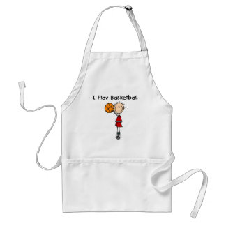 Boy I Play Basketball Tshirts and Gifts Adult Apron