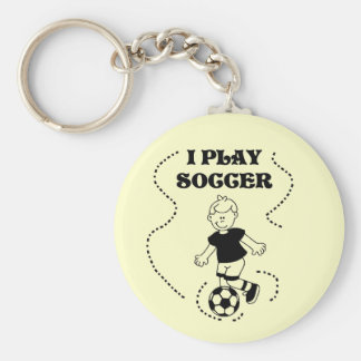 Boy I Play Soccer T-shirts and Gifts Keychain