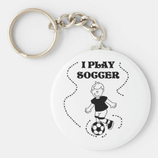 Boy I Play Soccer T-shirts and Gifts Key Chains
