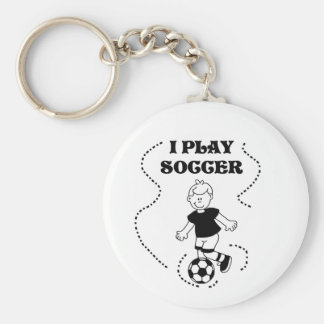 Boy I Play Soccer Tshirts and Gifts Key Chains