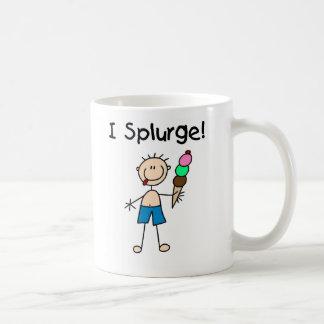Boy I Splurge Mug