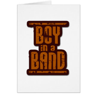 Boy In a Band Cards