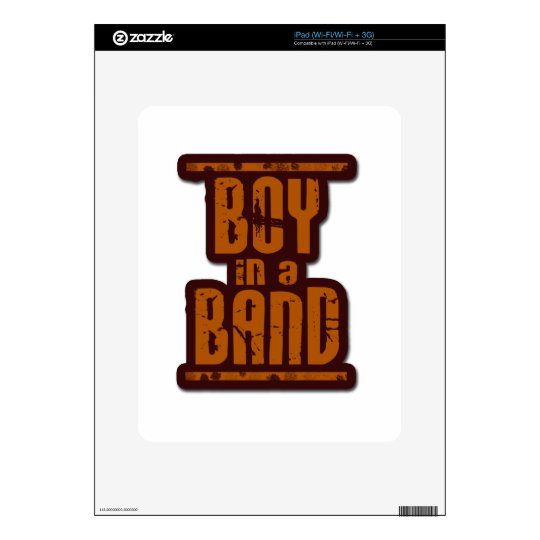Boy In a Band Decal For The iPad