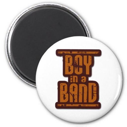 Boy In a Band Refrigerator Magnets
