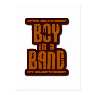 Boy In a Band Post Cards