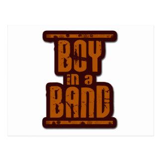 Boy In a Band Postcard