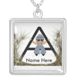 Boy in a Necklace