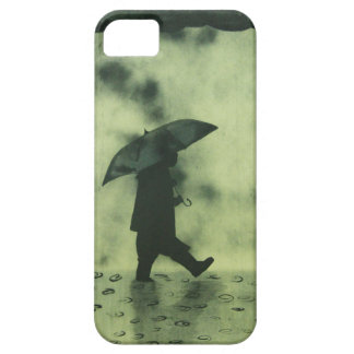 Boy in a rainy day iPhone SE/5/5s case