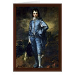 Boy In Blue (Portrait Of Jonathan Buttall) By Gain Greeting Cards