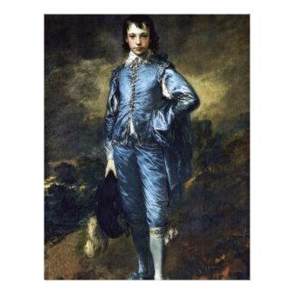 Boy In Blue (Portrait Of Jonathan Buttall) By Gain Flyer Design
