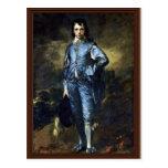 Boy In Blue (Portrait Of Jonathan Buttall) By Gain Postcards