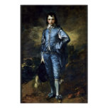 Boy In Blue (Portrait Of Jonathan Buttall) By Gain Poster