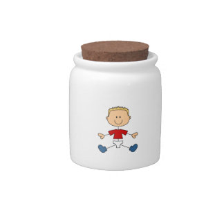 BOY IN DIAPERS CANDY JARS