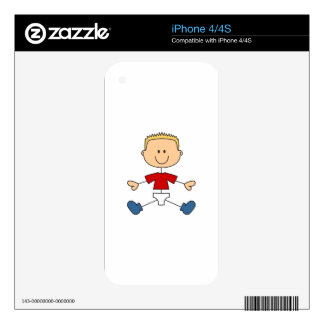 BOY IN DIAPERS SKINS FOR THE iPhone 4S