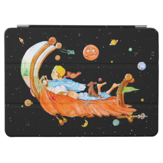 BOY IN FLYING BED iPad AIR COVER