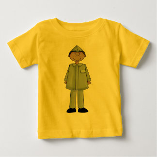 Boy In Military Uniform Infant T-shirt