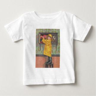 Boy in Raincoat Infant T-shirt