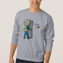 Boy in School Sweatshirt