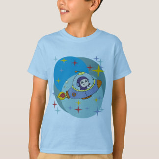 Boy in Space Ship Tshirts and Gifts