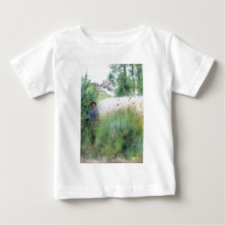 Boy in the Meadow Baby T-Shirt