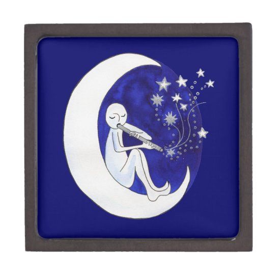 Boy in the moon gift box