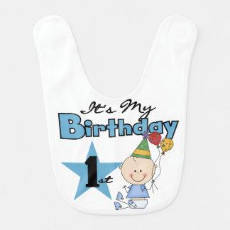 Boy It's My 1st Birthday Bib