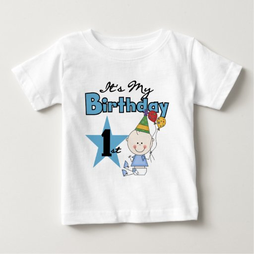 Boy It's My Birthday Tshirts and Gifts