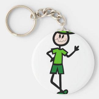 Boy Keychain