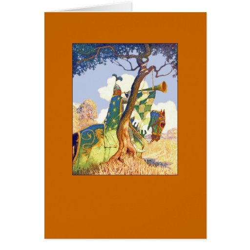 Boy King Arthur Card