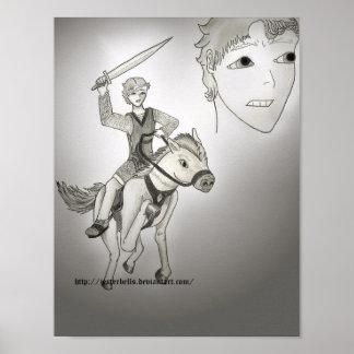 Boy King Poster