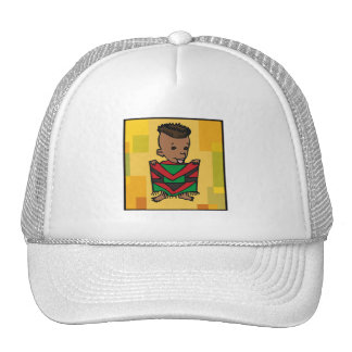 Boy Kwanzaa Mesh Hats