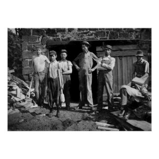 Boy Laborers, 1913 Poster