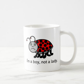 Boy Lady Bug Coffee Mug