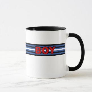 boy (Leather Flag) Mug