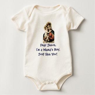 Boy Like Jesús, niño de mamá Mameluco De Bebé