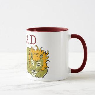 Boy & Lion READ Mug