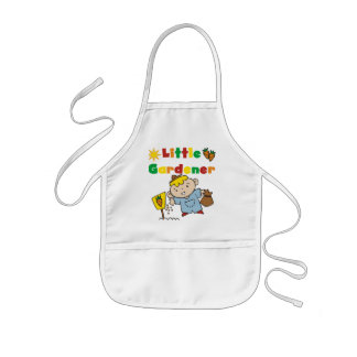 Boy Little Gardener Tshirts and Gifts Kids' Apron