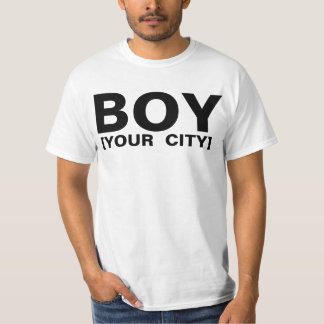 BOY LONDON parody t-shirt