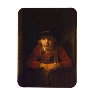 Boy Looking through the Window, c.1647 Magnet